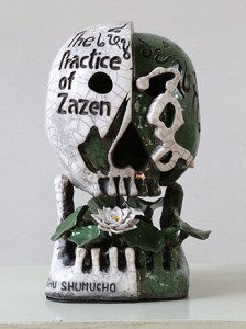 BBAD 26.See thing as it is (Practice of Zazen) ceramic