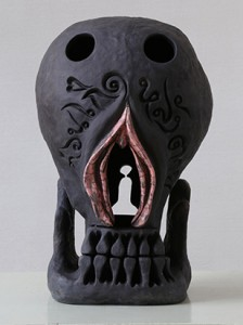 BBAD 8.Before Birth-After Death ceramic