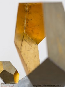 Incommensurable-7Irregular Dodecarhedron-brass-2