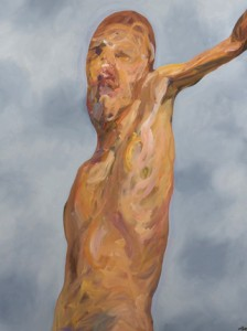Insane-K5-Figure 2, 2011 Oil painting, 100 x 120 cm.